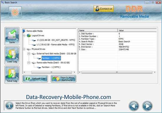 Data reviving program restores lost video