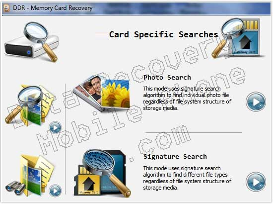 Memory Card Data Salvage screenshot